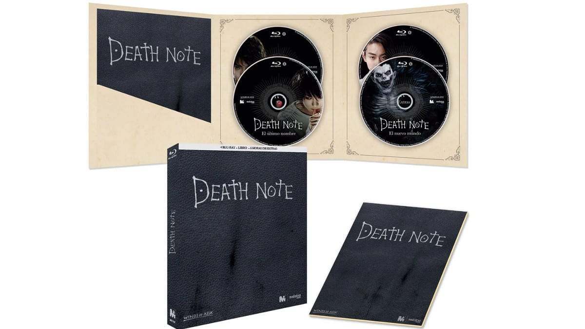 Pack Death Note Blu-ray barato, películas blu-ray baratas, chollo