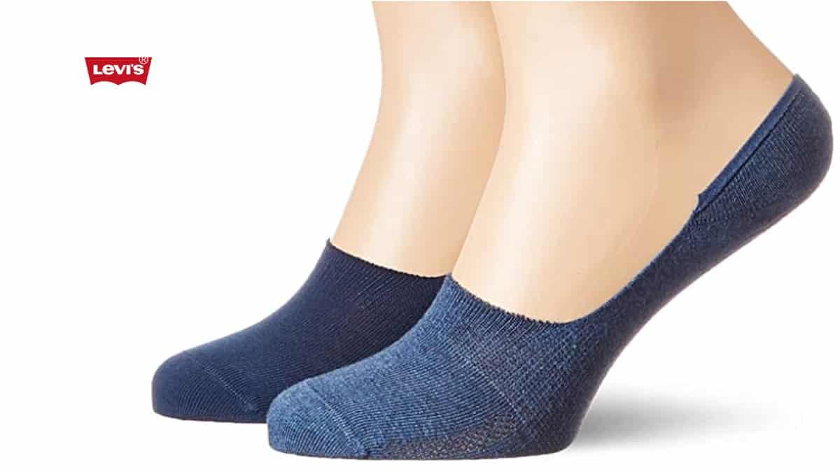 Pack de 2 pares de calcetines Levi's 168sf Low Rise