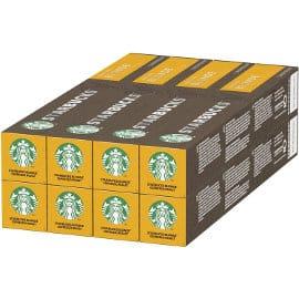 Pack de 80 cápsulas compatibles con Nespresso Starbucks BLONDE Espresso Roast baratas, cápsulas de café baratas, ofertas supermercado