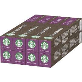 Pack de 80 cápsulas compatibles con Nespresso Starbucks VERONA baratas, café baratos, ofertas supermercado