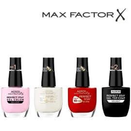 Pack de uñas Max Factor Perfect Stay barato, lacas de uñas baratas, ofertas belleza