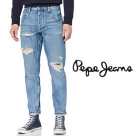 Pantalones vaqueros Pepe Jeans Callen Crop Relaxed baratos, vaqueros baratos, ofertas en ropa de marca