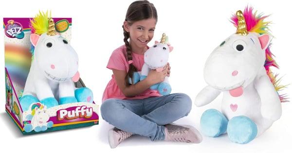 Peluche interactivo Unicornio Puffy barato, juguetes baratos, ofertas para niños chollo