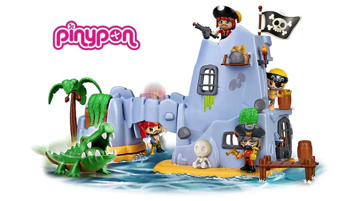 Pinypon Action Isla Pirata del Capitán Caimán barato, juguetes baratos, chollo