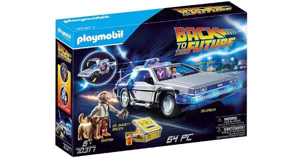Playmobil Back to the Future DeLorean barato, Playmobil baratos, juguetes baratos, chollo