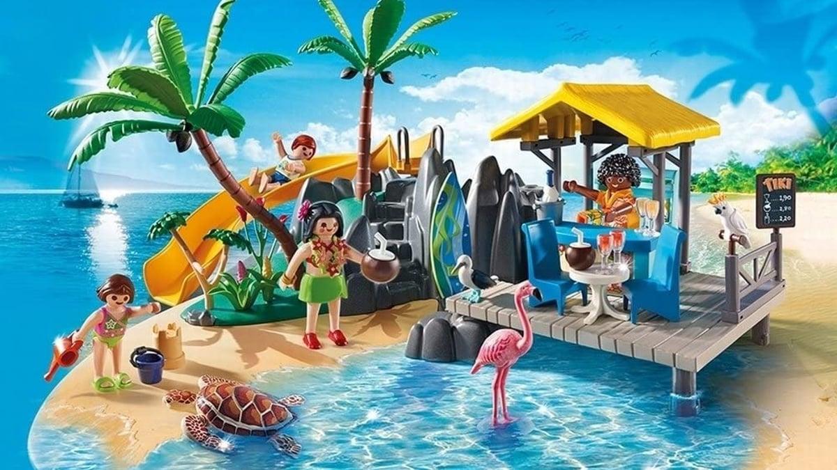 Playset Playmobil Isla Resort barato, juguetes baratos, ofertas para niños chollo