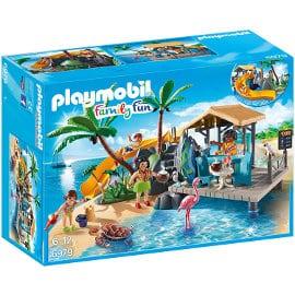Playset Playmobil Isla Resort barato, juguetes baratos, ofertas para niños