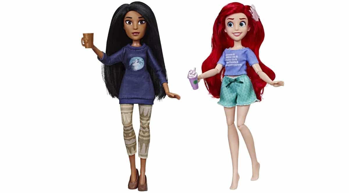 Princesas Disney Ariel y Pocahontas - Ralph Rompe internet, baratas. Ofertas en juguetes, juguetes baratos, chollo