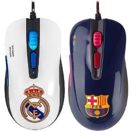 Ratones gaming Mars Gaming Real Madrid y FC Barcelona baratos, ratones baratos, alfombrillas baratas