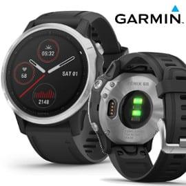 Reloj GPS multideporte Garmin Fenix 6S barato, relojes deportivos baratos, pulsómetros baratos
