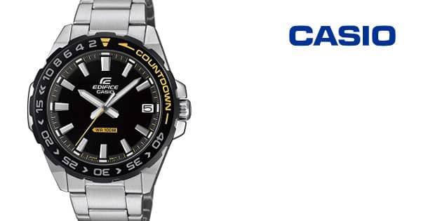 Reloj para hombre Casio Edifice barato, relojes de marca baratos, ofertas para regalar, chollo