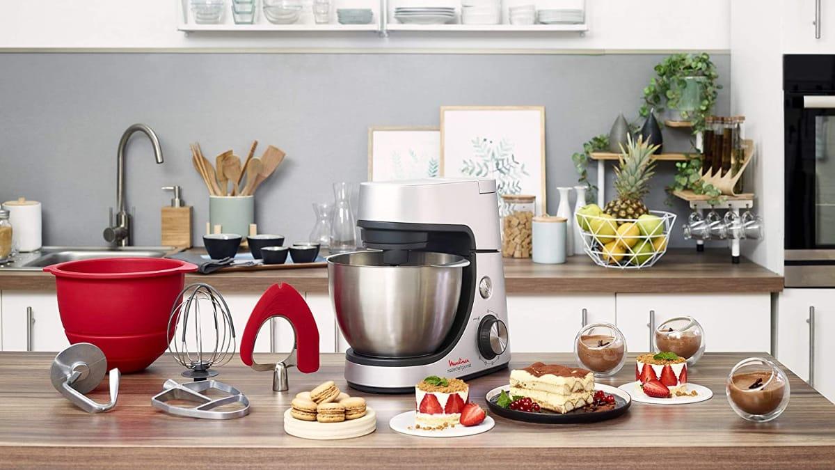 Robot amasador Moulinex Masterchef Gourmet QA530D barato, robots de cocina baratos, ofertas para casa, chollo