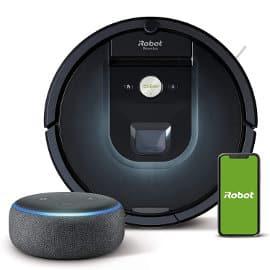 . Robot aspirador iRobot Roomba 981 + Altavoz inteligente Echo Dot barato, robots aspiradores baratos, ofertas casa