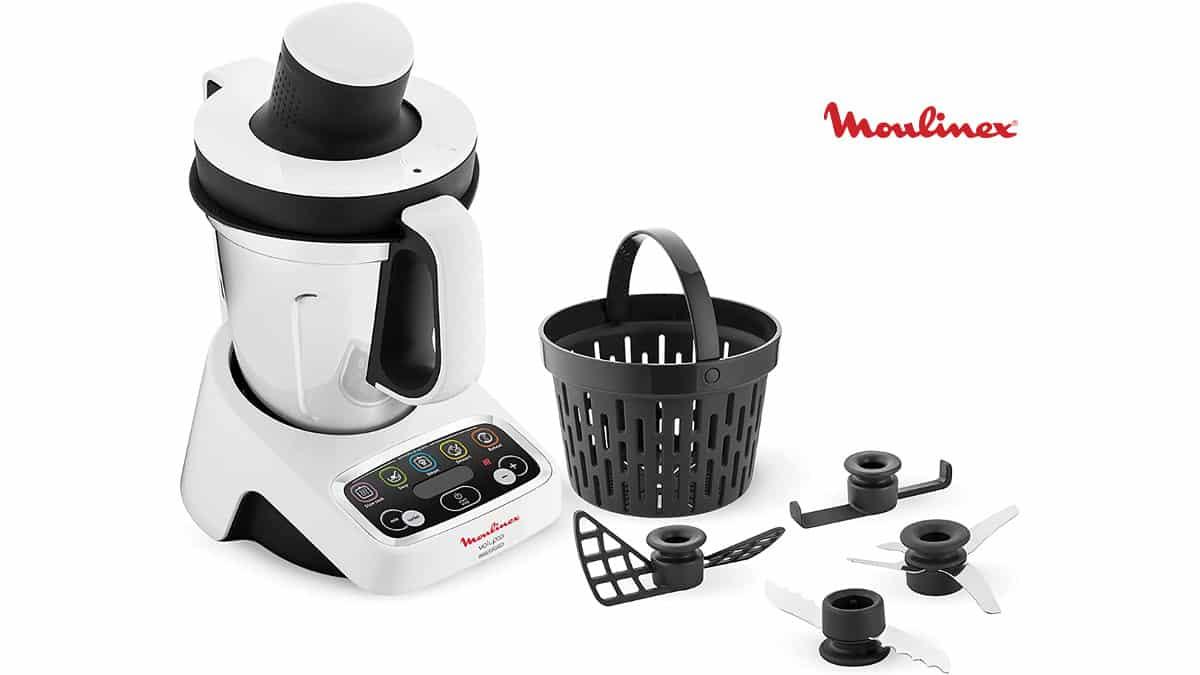 Robot de cocina Moulinex Volupta barato, robots de cocina baratos, chollo
