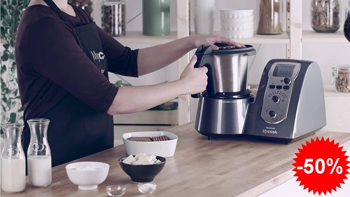 Robot de cocina Taurus Mycook legend barato, robots de cocina baratos, ofertas para casa, chollo