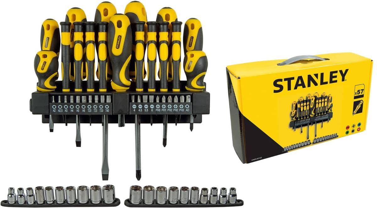 Set de 57 piezas Stanley STHT0-62143 barato. Ofertas en herramientas, herramientas baratas, chollo