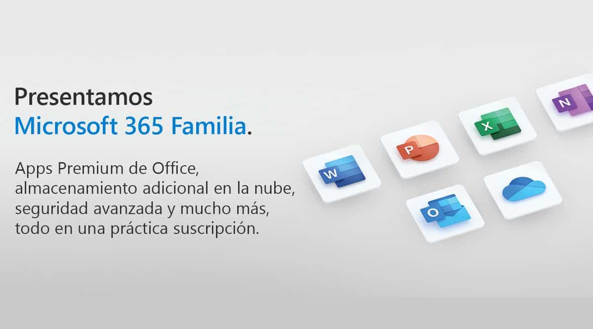 Suscripción anual de Microsoft 365 Familia (6 usuarios) barata. Ofertas en Microsoft 365, Microsoft 365 barato, chollo