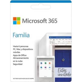 Suscripción anual de Microsoft 365 Familia (6 usuarios) barata. Ofertas en Microsoft 365, Microsoft 365 barato