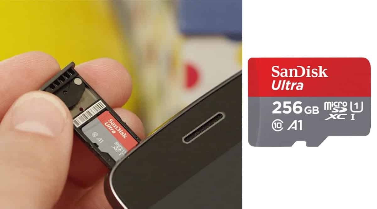 Tarjeta de memoria Sandisk Ultra 256GB barata. Ofertas en tarjetas de memoria, tarjetas de memoria baratas, chollo