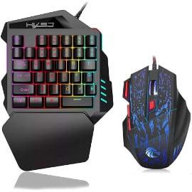 Teclado y ratón gaming HXSJ J50 baratos, teclados baratos, ratones baratos