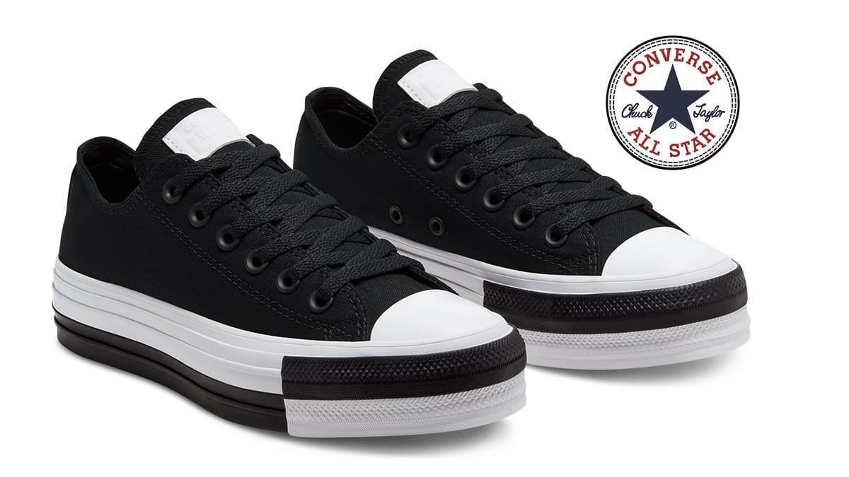 Zapatillas Converse Rivals Platform Chuck Taylor baratas, calzado de marca barato, ofertas en zapatillas de marca chollo