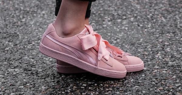 Zapatillas Puma Suede Heart para mujer baratas, calzado baratom ofertas en zapatillas chollo