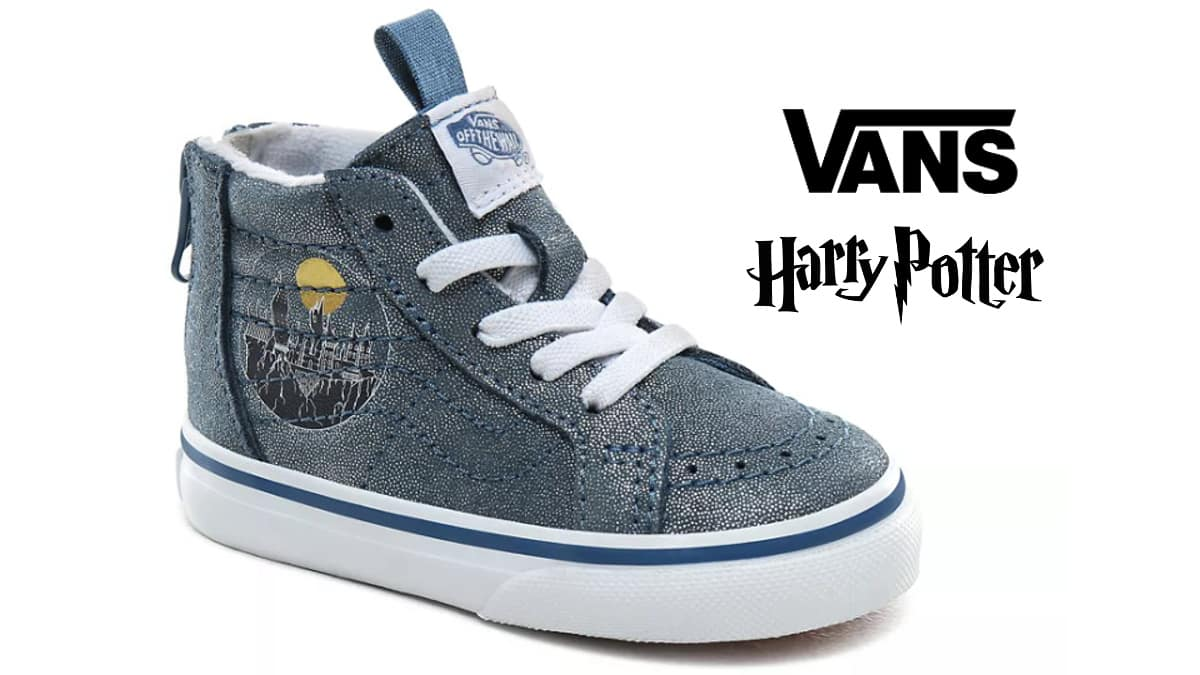 Zapatillas de bebé Vans x Harry Potter baratas, calzado barato, ofertas para niños chollo