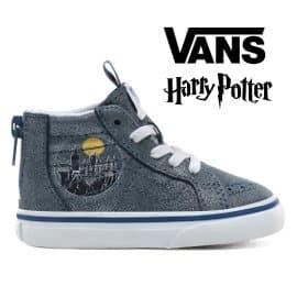 Zapatillas de bebé Vans x Harry Potter baratas, calzado barato, ofertas para niños