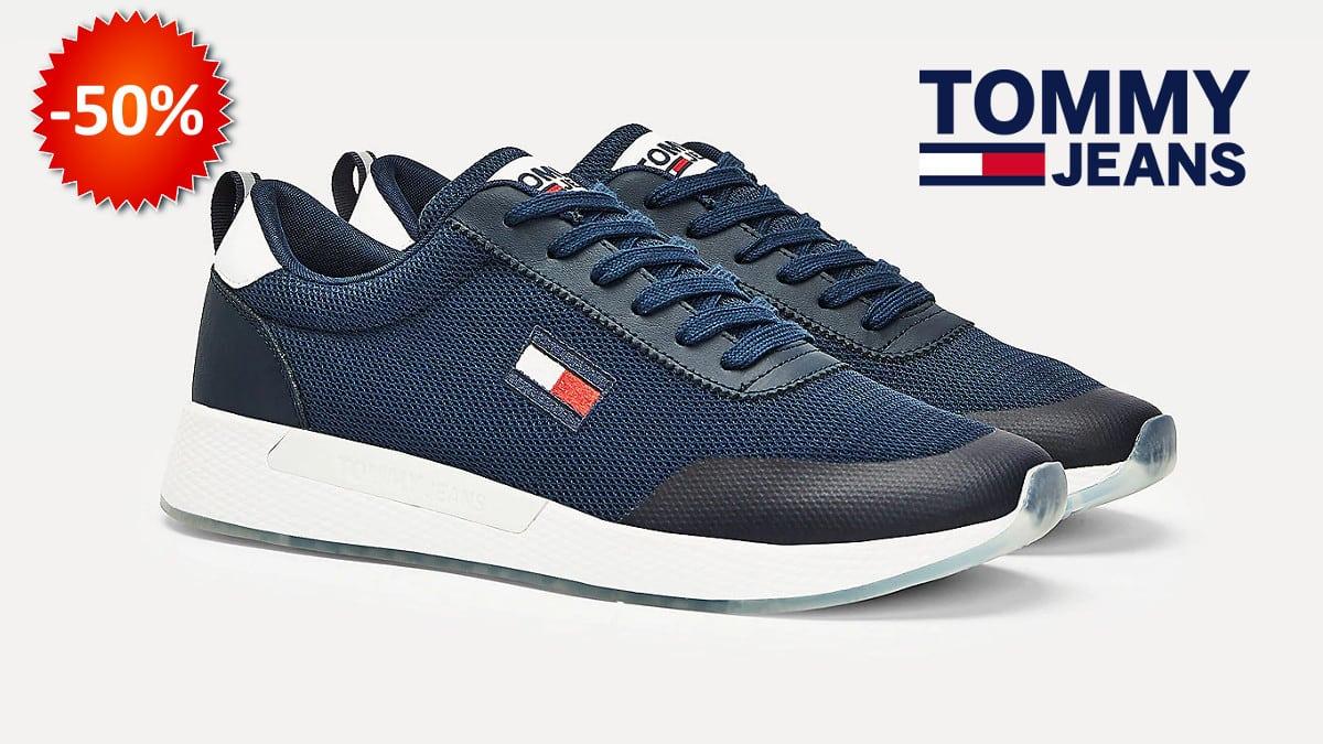 Zapatillas para hombre Tommy Jeans Blake baratas, zapatillas baratas, chollo