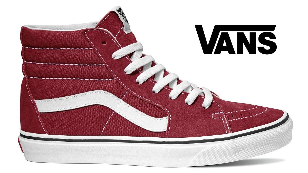 Zapatillas unisex Vans SK8-HI baratas, calzado barata, ofertas en zapatillas deportivas chollo