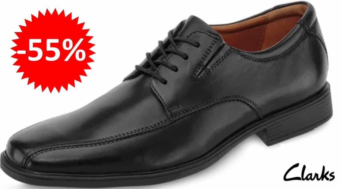 Zapatos Clarks Tilden Walk baratos, zapatos de marca baratos, ofertas en calzado, chollo