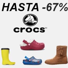 Zuecos y botas Crocs baratos para niño y adulto, calzado barato, ofertas en calzado
