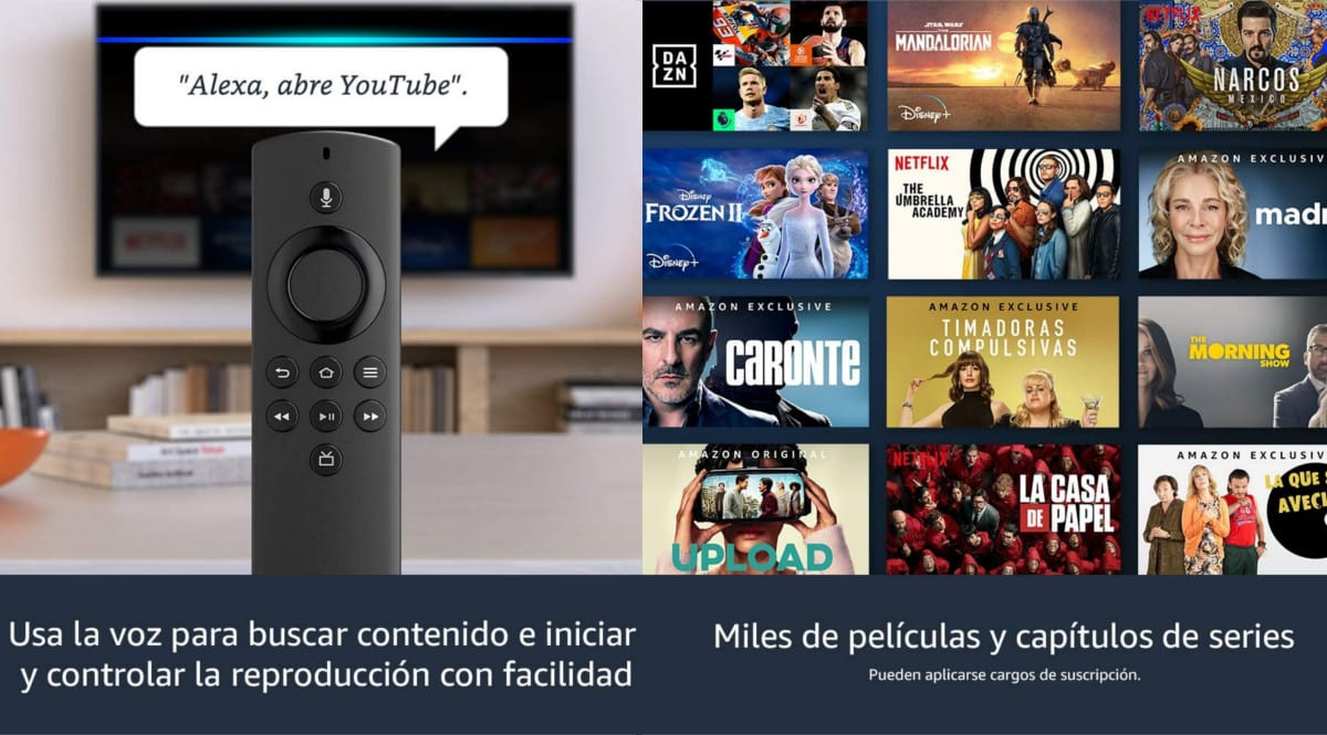 Amazon Fire TV Stick Lite barato. Ofertas en Fire TV Stick, Fire TV Stick barato, chollo