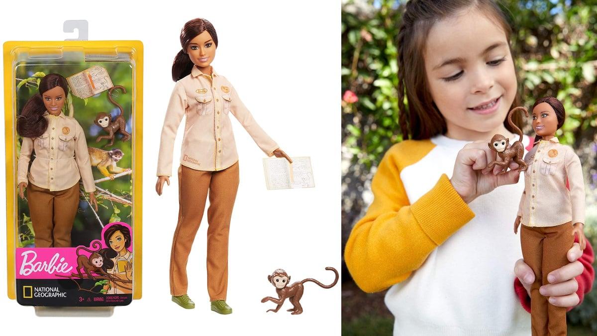 Barbie National Geographic Conservadora de la Naturaleza barata, juguetes baratos, ofertas en regalos de navidad chollo