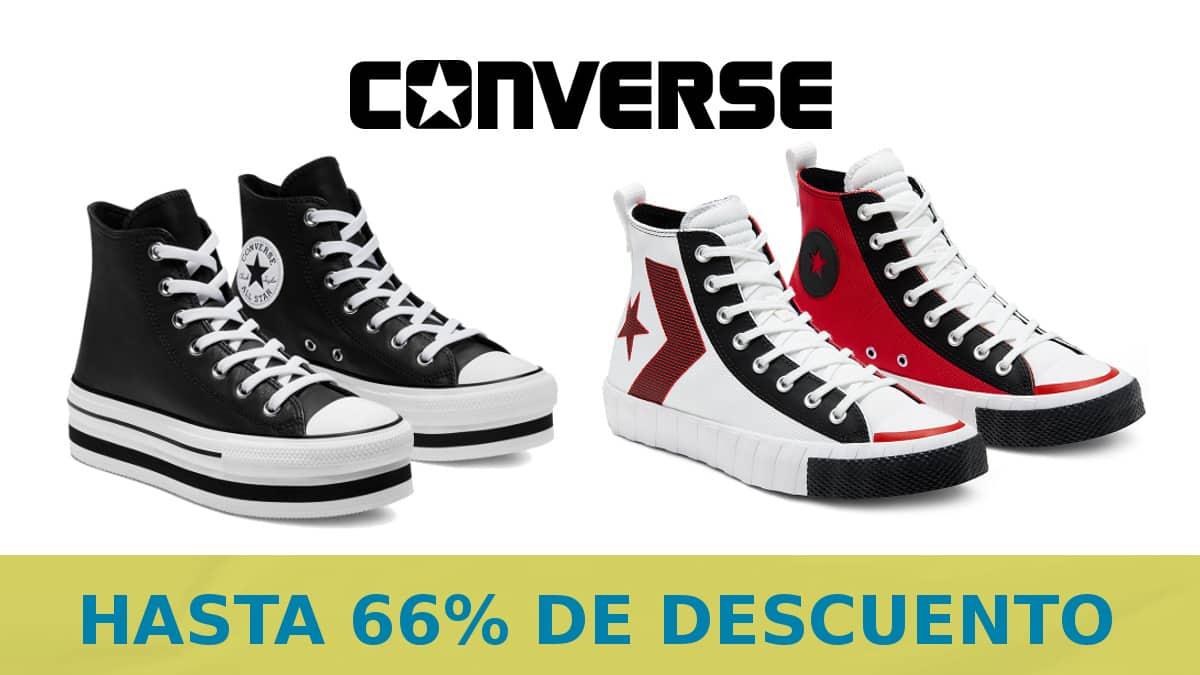 Black Friday Converse barato, calzado de marca barato, ofertas en ropa chollo