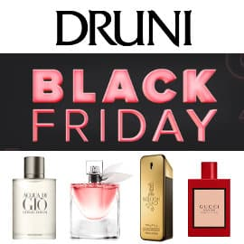 Black Friday Druni, colonias baratas, ofertas en perfumes