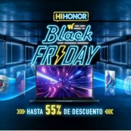 Black Friday Honor. Ofertas en móviles, ofertas en portátiles, ofertas en smartwatches