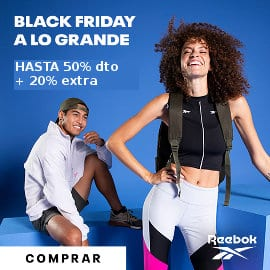 Black Friday Reebok barato, ropa de marca barata, ofertas en calzado deportivo