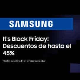 Black Friday Samsung 2020, ofertas en electrodomésticos, móviles baratos