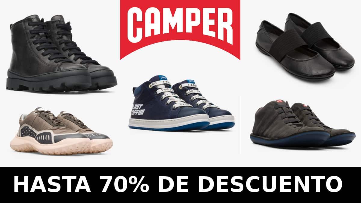 Black Friday Zacaris Camper barato, calzado de marca barato, ofertas en calzado chollo