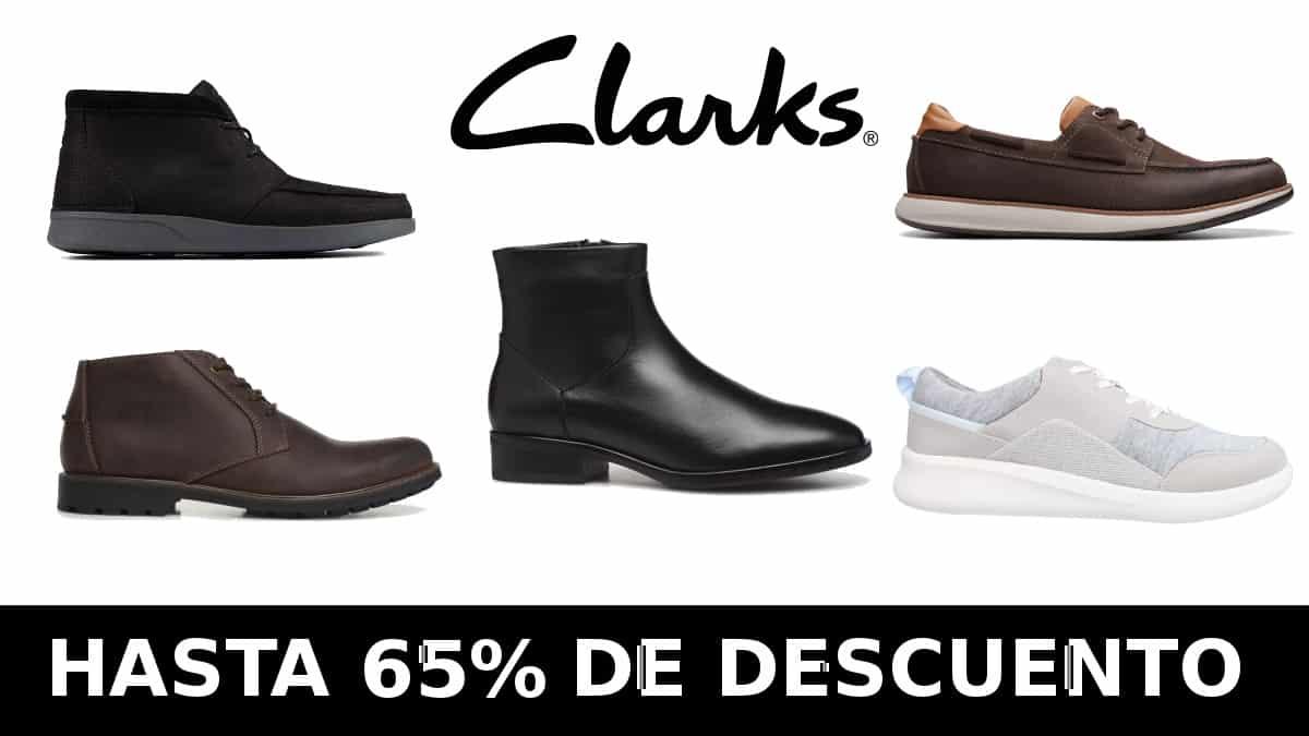 Black Friday Zacaris Clarks barato, calzado de marca barato, ofertas en calzado chollo
