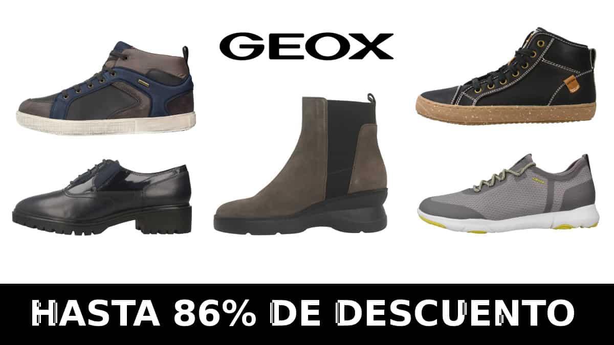 Black Friday Zacaris Geox, calzado de marca barato, ofertas en calzado Geox chollo