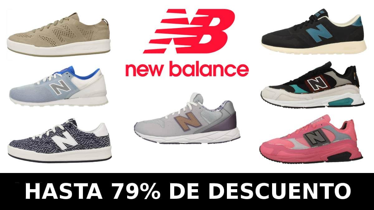 Black Friday Zacaris New Balance, calzado de marca barato, ofertas en zapatillas chollo