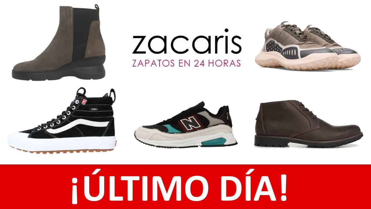 Black Friday Zacaris. Códigos de descuento exclusivos, CHOLLO