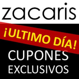 Black Friday Zacaris. Códigos de descuento exclusivos