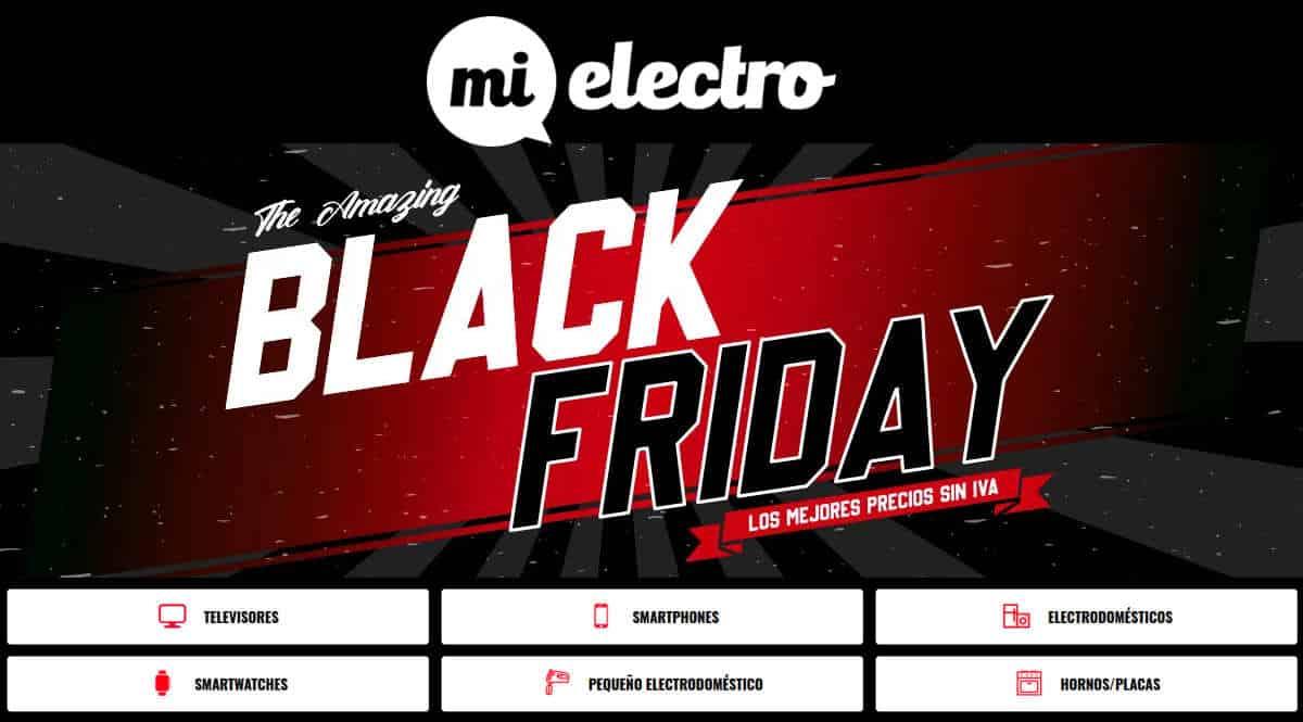 Black Friday en Mi Electro, ofertas en electrodomésticos, electrodomésticos baratos, chollo