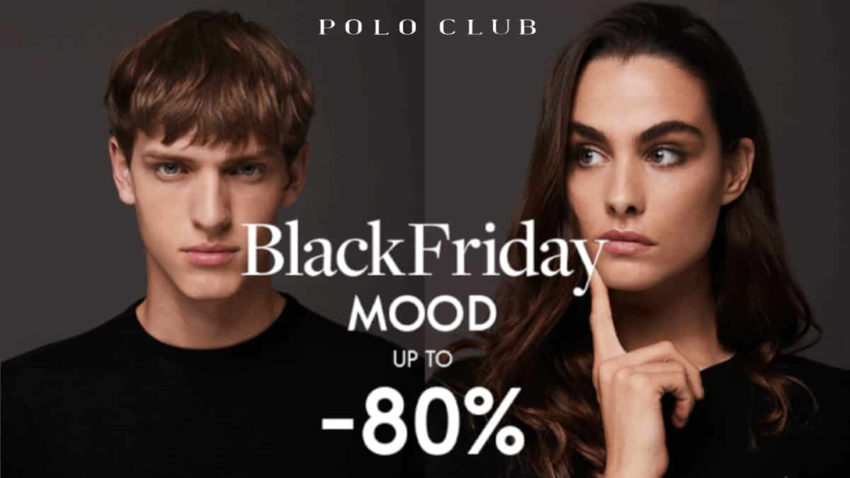 Black Friday en Polo Club, ropa de marca barata, ofertas en ropa de marca, chollo