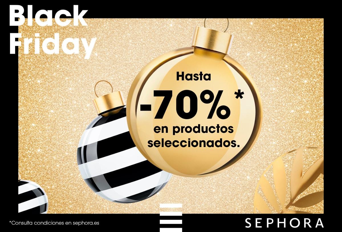 Black Friday en Sephora, maquillaje y cosméticos baratos, ofertas belleza, chollo