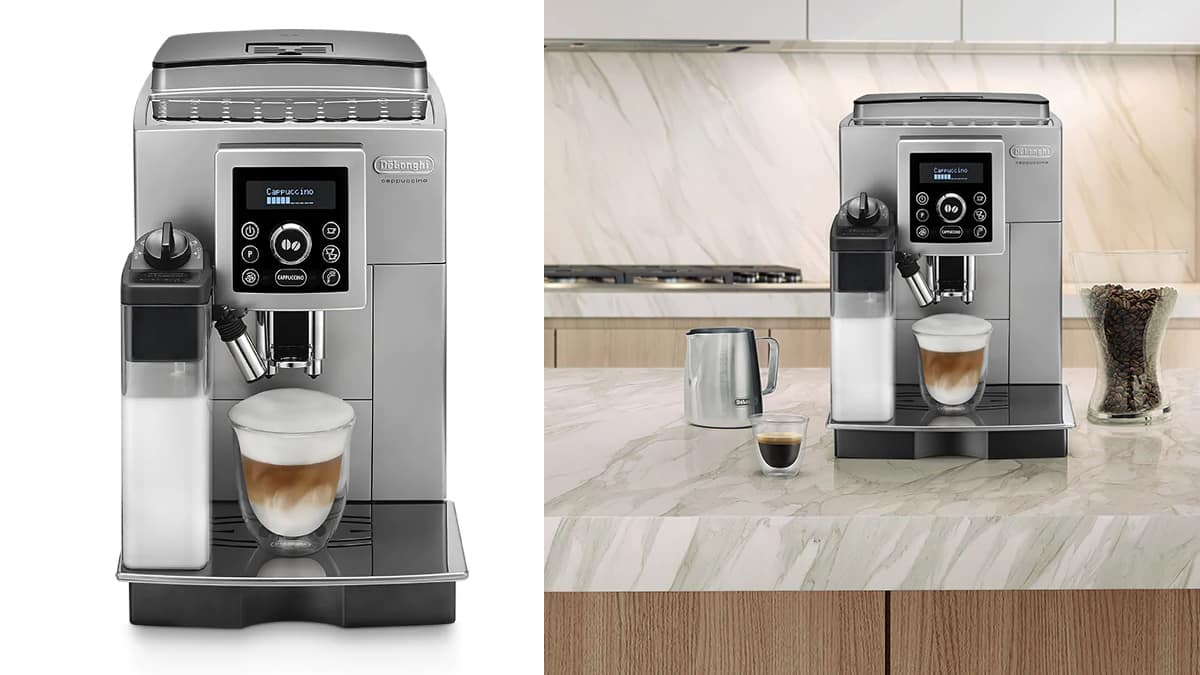 Cafetera superautomática De'longhi ECAM 23.460.SB barata, cafeteras baratas, ofertas en cafeteras chollo