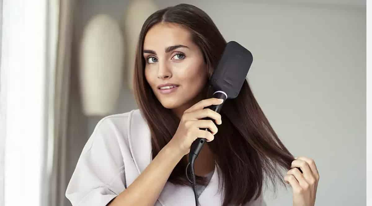 Cepillo alisador Philips StyleCare Essential BHH880-00 barato, cepillos eléctricos de marca baratos, ofertas en belleza, chollo